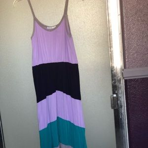 Dresses & Skirts - Maxi color-block dress